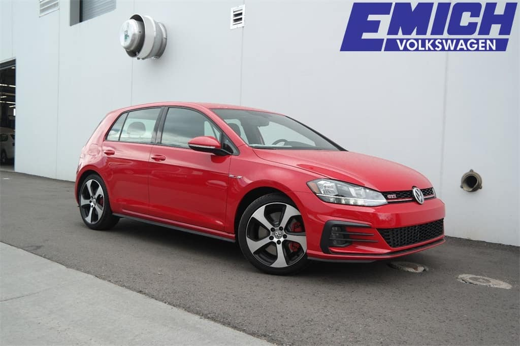 2019 Volkswagen Golf Models For Sale At Emich Vw In Denver Colorado