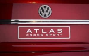 2020 Volkswagen Atlas Cross Sport Badge