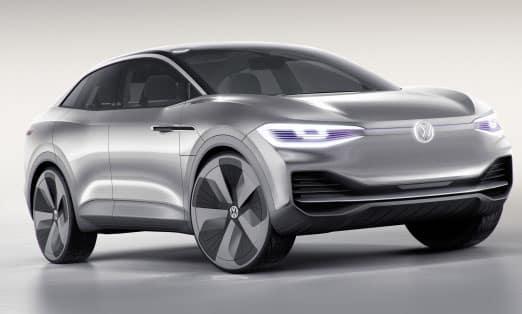 2020 Volkswagen ID. Crozz Electric SUV Concept