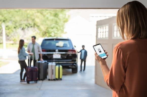 VW Car-Net Remote Access