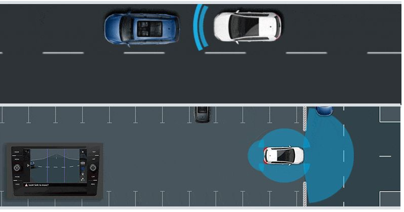 VW driver assist features