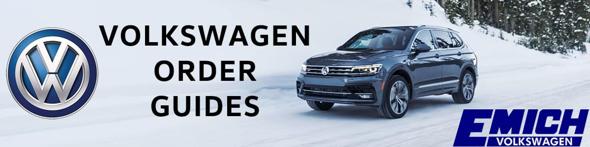 VW Order Guides - FREE to download!