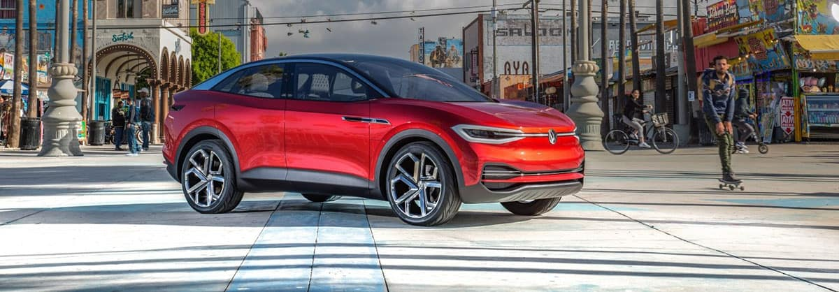2021 ID4 / ID. Crozz Electric SUV