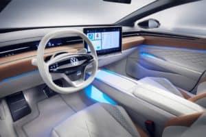 2022 VW ID. Space Vizzion Wagon Interior