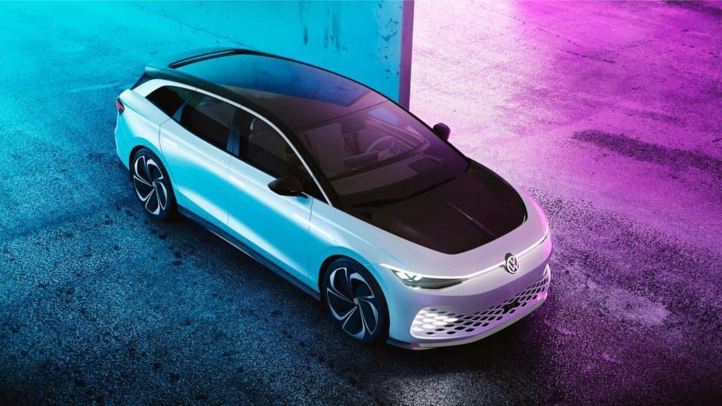 2022 VW ID. Space Vizzion Wagon MEB Platform