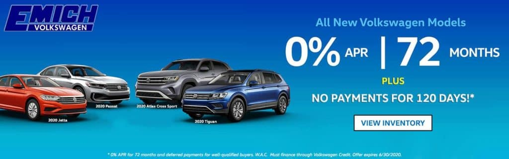 Emich VW 0% APR Offer