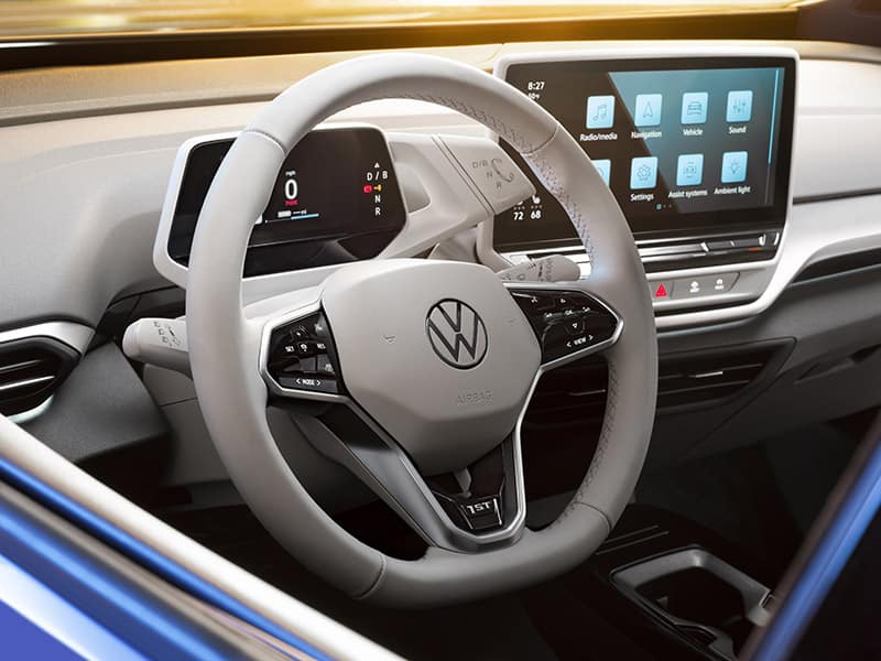 2021 VW ID.4 Electric SUV Interior