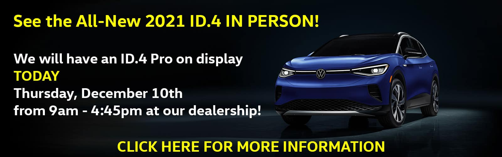 2021 VW ID.4 Reveal TODAY