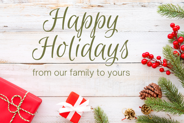 Happy Holidays from Emich VW