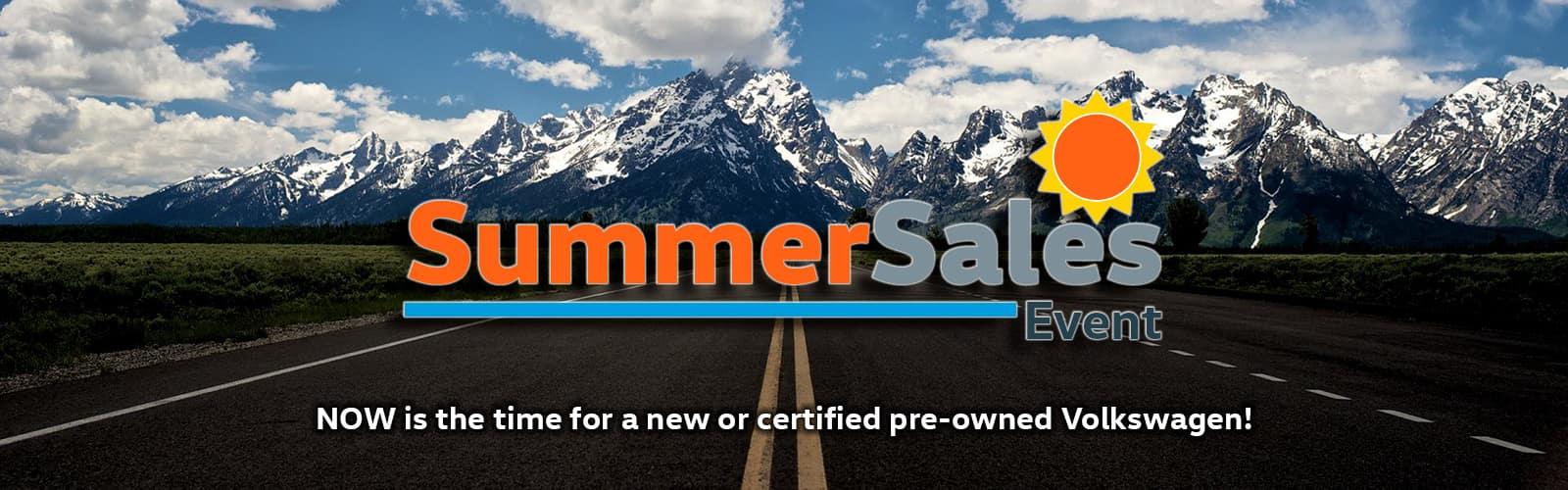 Volkswagen Summer Sales Event in Denver