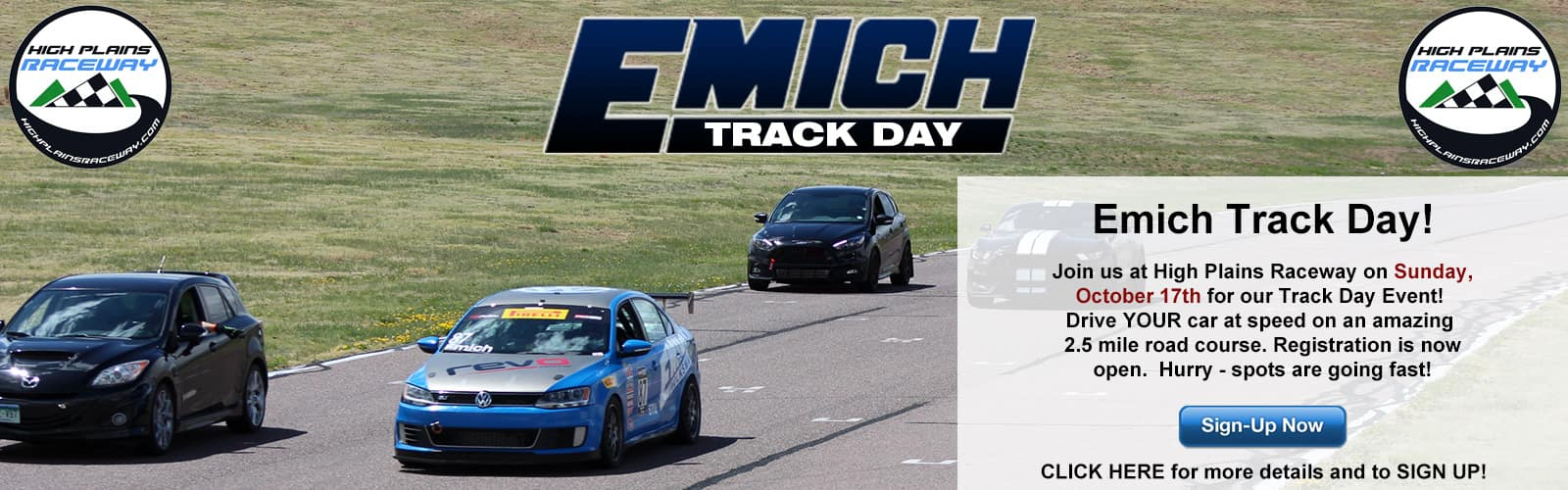 Emich Track Day - October 17, 2021!