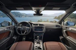 2022 Volkswagen Tiguan Compact SUV Interior in Denver, CO