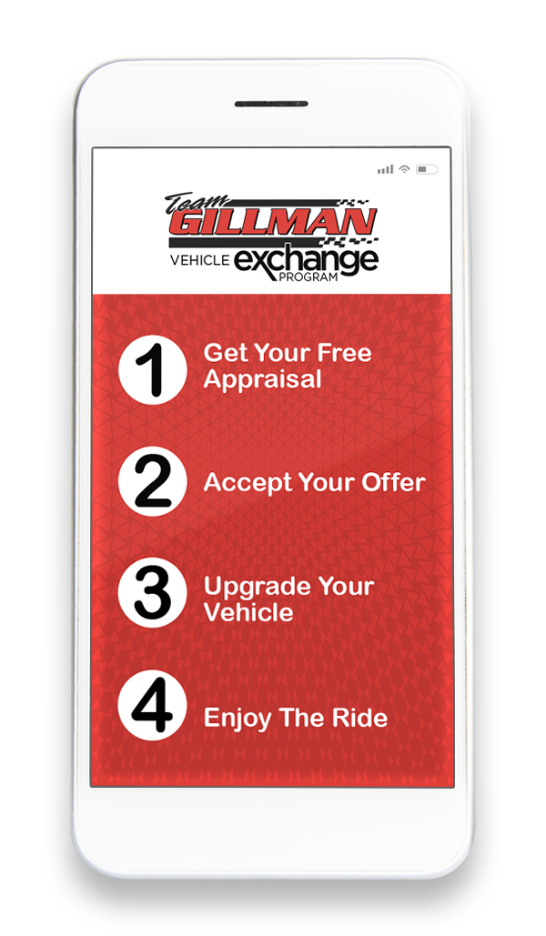 team gillman vehicle exchange program