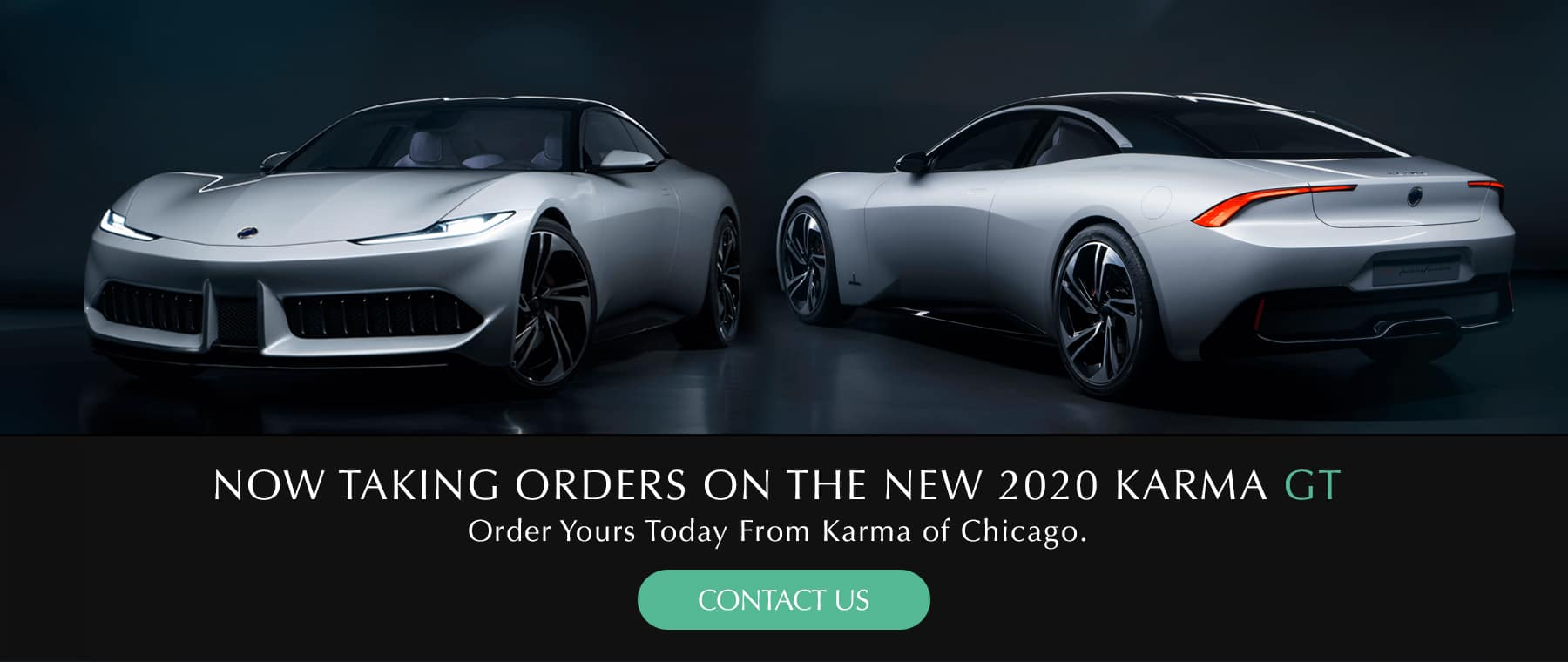 Now Taking orders to the new 2020 Karma GT