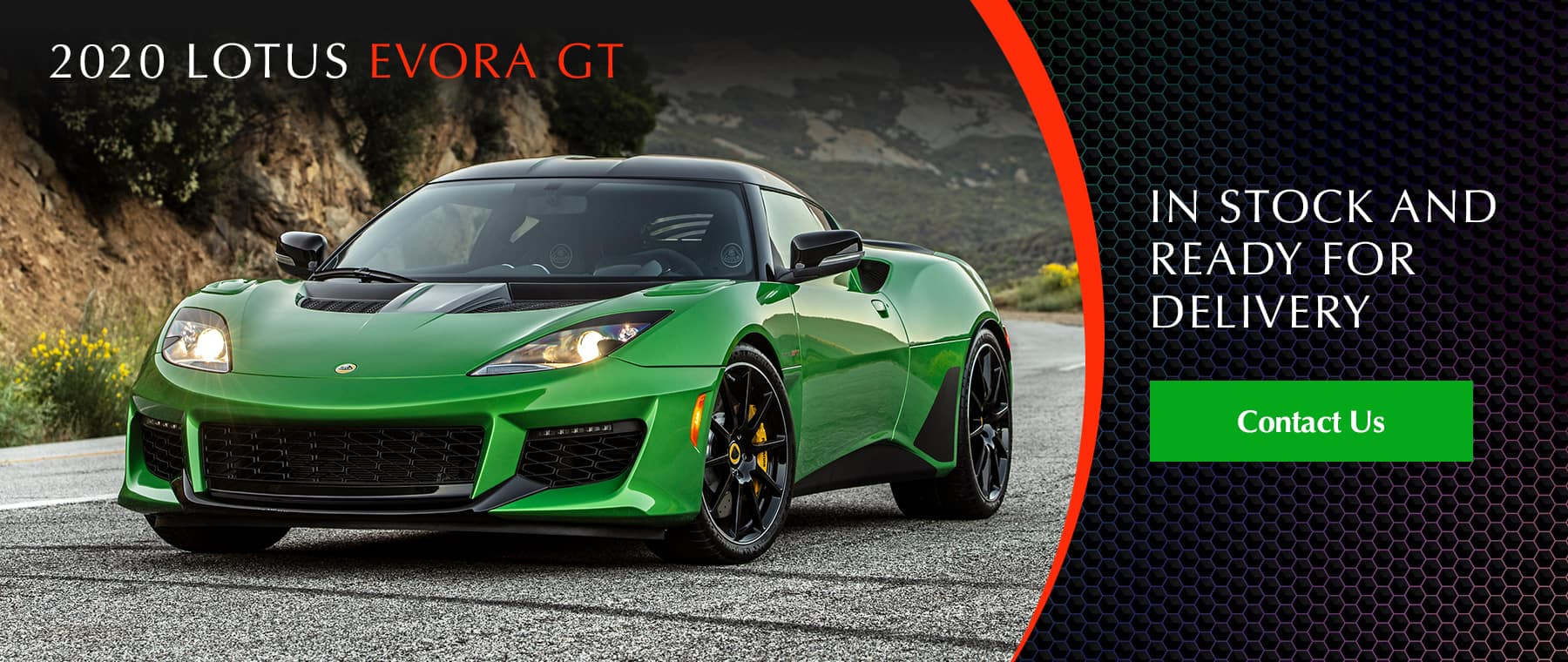 2020 Lotus Evora GT In Stock & Ready For Delivery