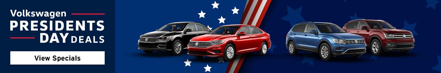 Volkswagen President's Day Deals