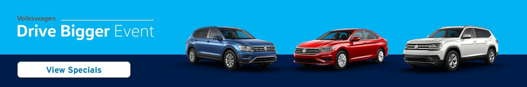 Volkswagen Drive Bigger Event