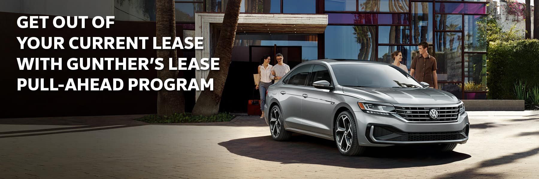 Get out of your current lease with Gunther's lease pull-ahead program.