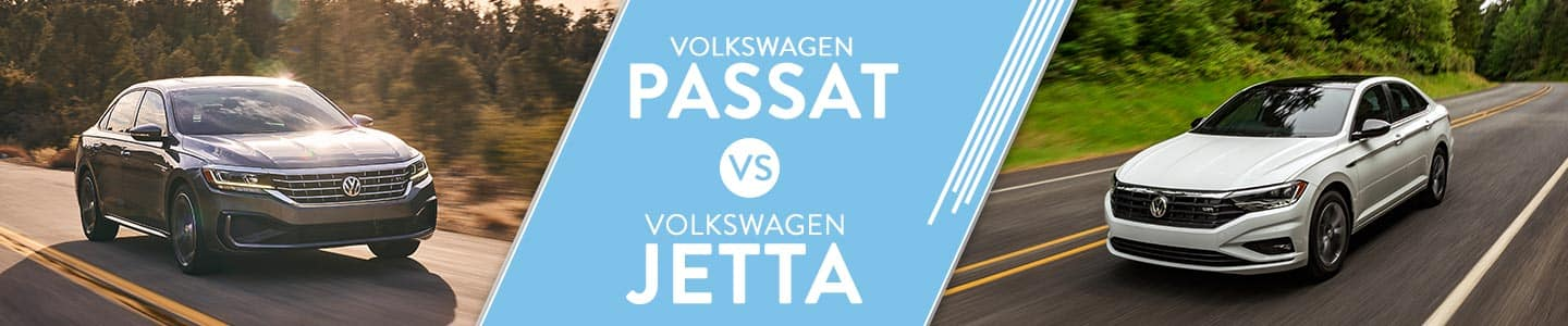 VW passat vs vw jetta comparison