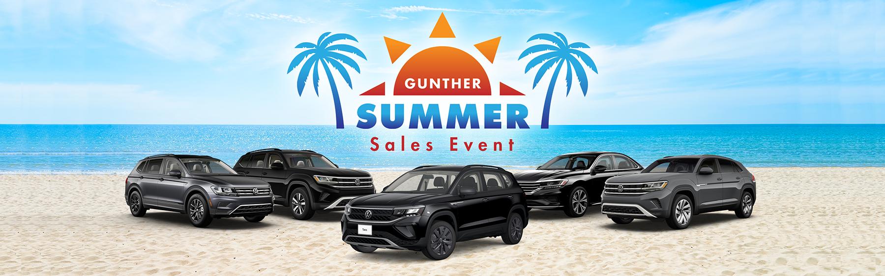 Gunther Summer Sales Event