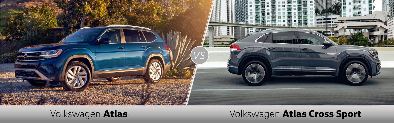 Volkswagen Atlas Vs Atlas Cross Sport