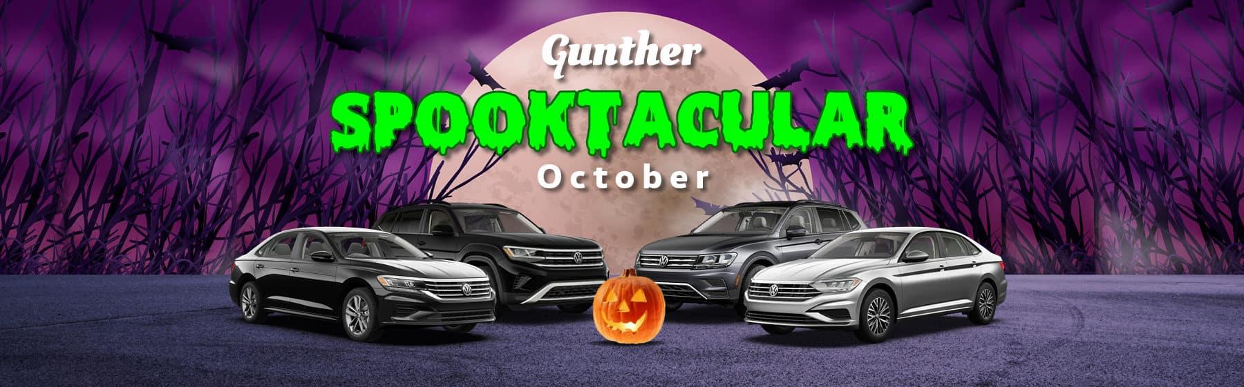 Gunther Spooktacular October.