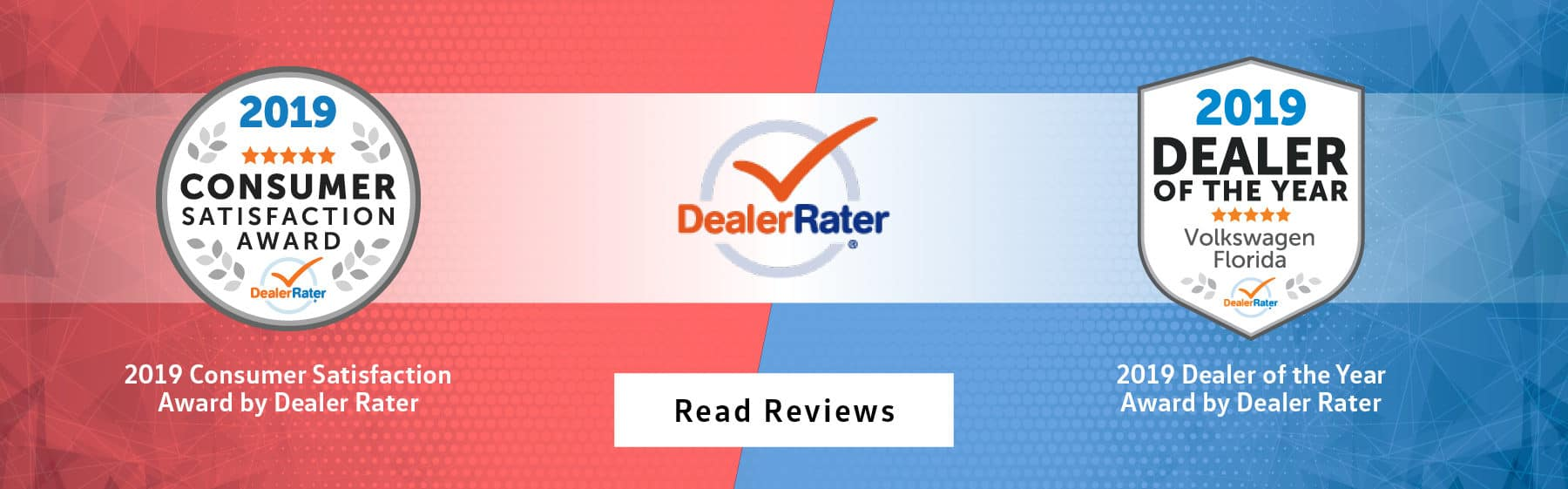 Awarded 2019 consumer satisfaction award and 2019 dealer of the year award by dealer rater. Read our reviews.