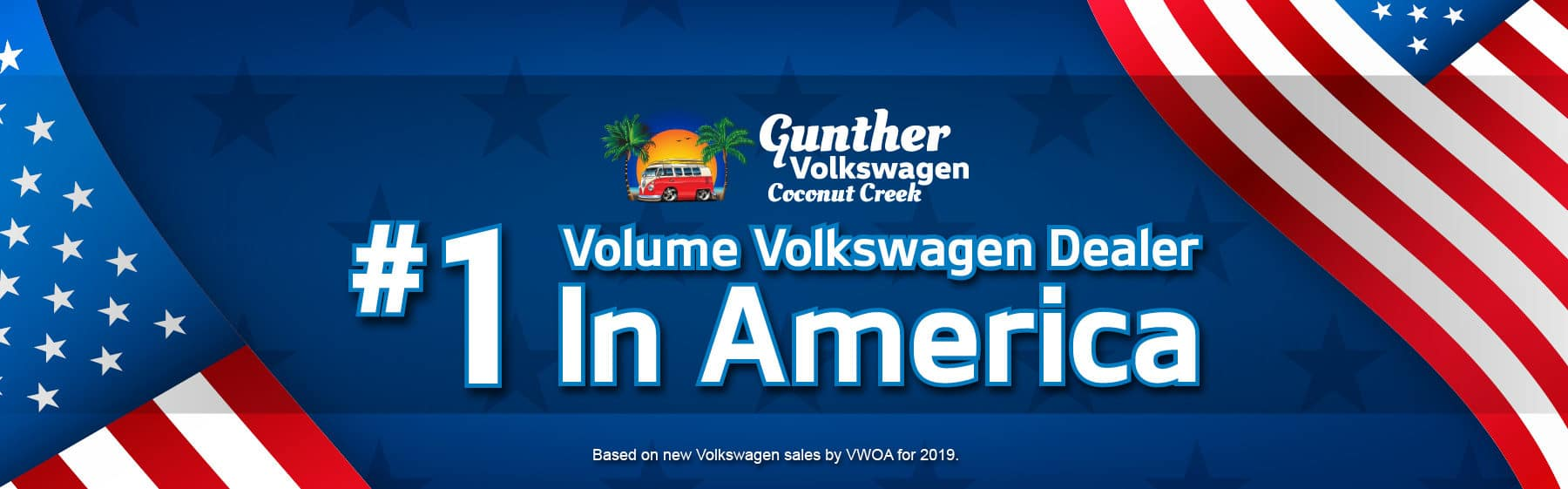 #1 volume volkswagen dealer in america.