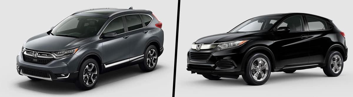 2019 Honda CR-V vs 2019 Honda HR-V