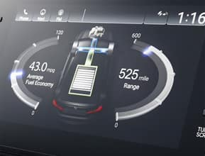 Energy management system display