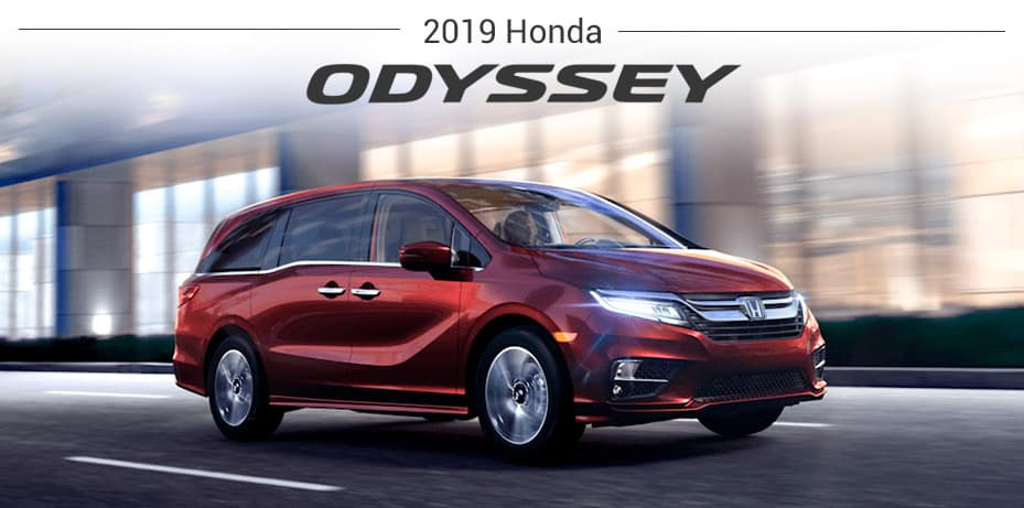 2019 honda Odyssey banner