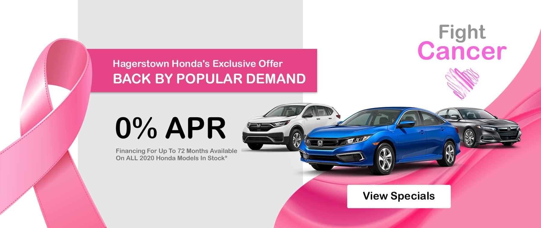 Honda 0% APR