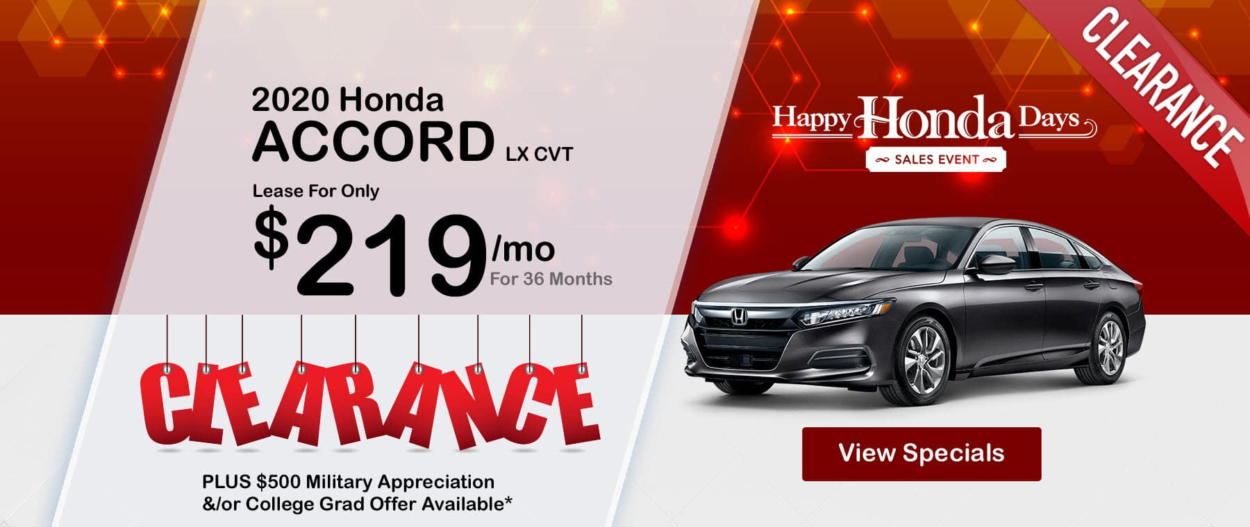 Honda Accord Honda Days