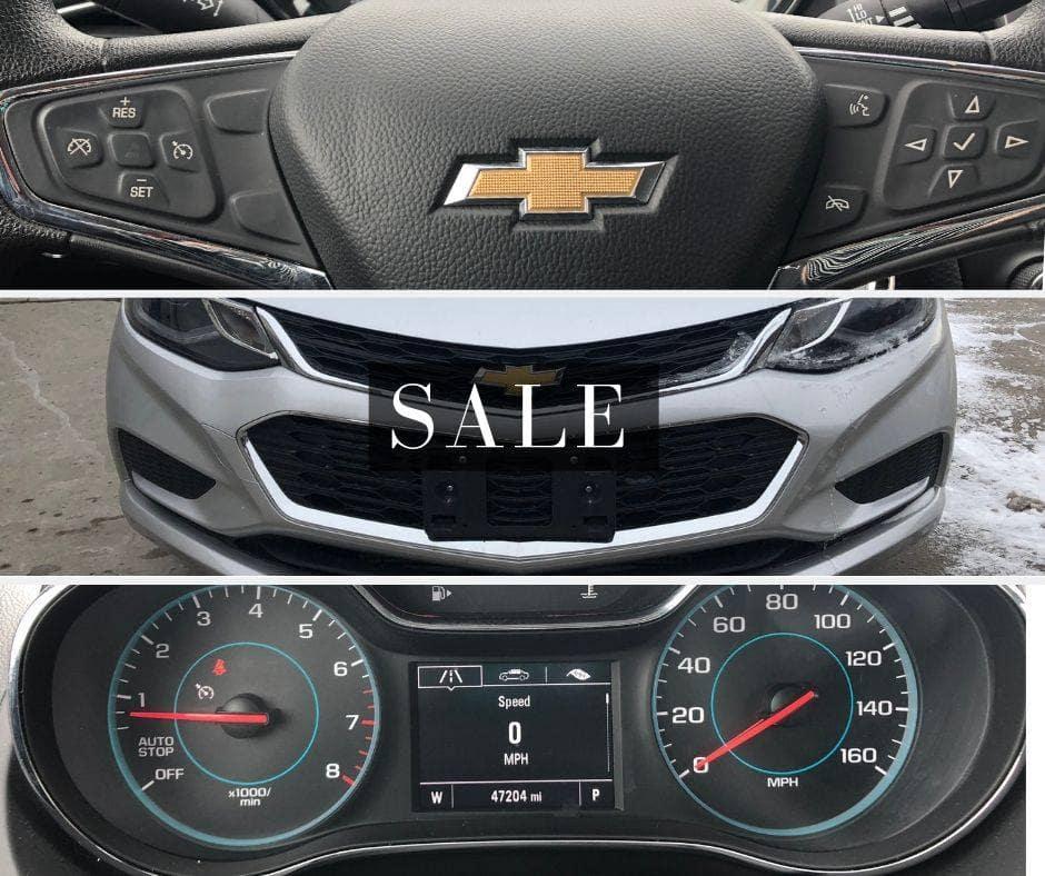 Pre-Owned 2017 Chevrolet Cruze LT FWD 4D Sedan