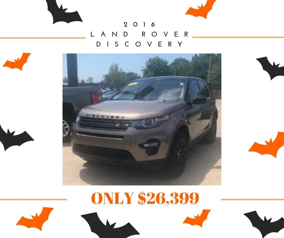 Pre-Owned 2016 Land Rover Discovery Sport HSE 4WD