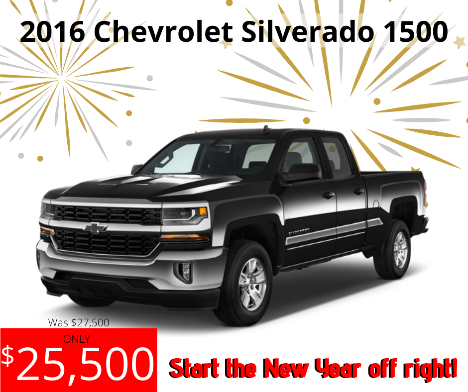 Pre-Owned 2016 Chevrolet Silverado 1500 LT 4WD
