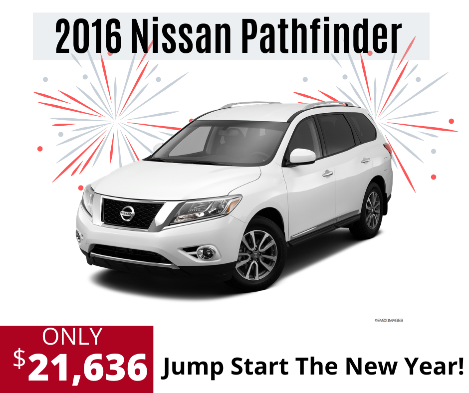 Pre-Owned 2016 Nissan Pathfinder SL With Navigation & 4WD