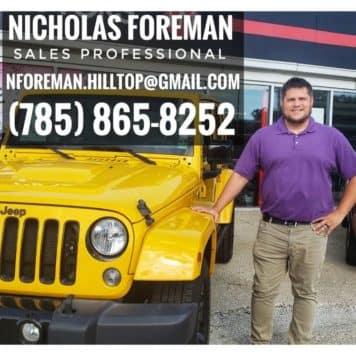 Nicholas Foreman