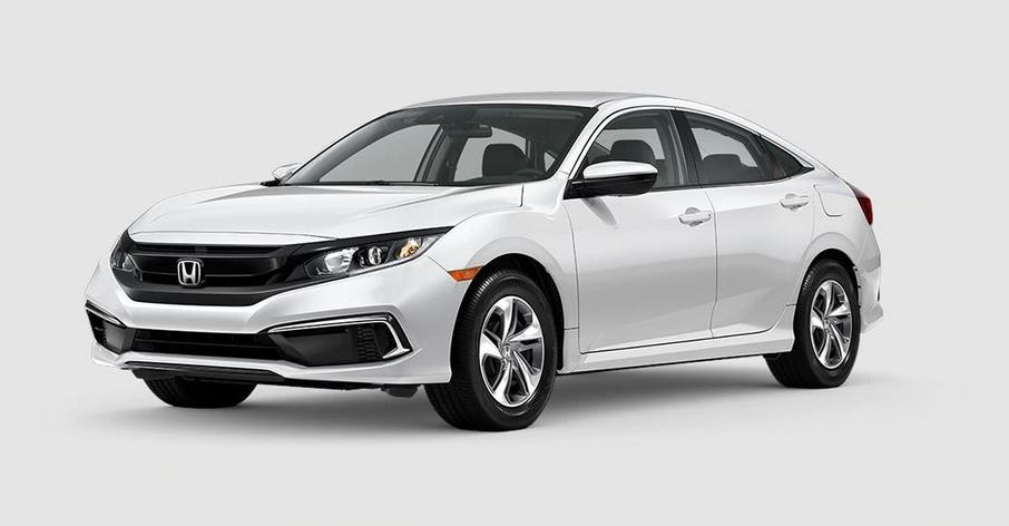New 2020 Honda Civic Sedan LX Auto