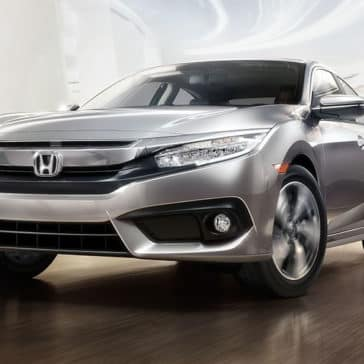 2018 Honda Civic Sedan front driver static