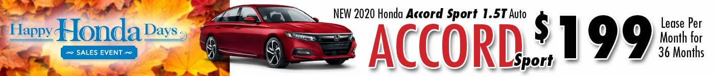 Honda Accord INV Nov 20