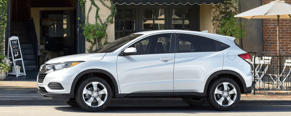 2019 Honda HR-V white SUV in town