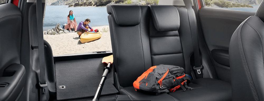 2019 Honda HR-V interior back row seating
