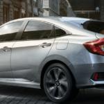 2020 Honda Civic parked on city street