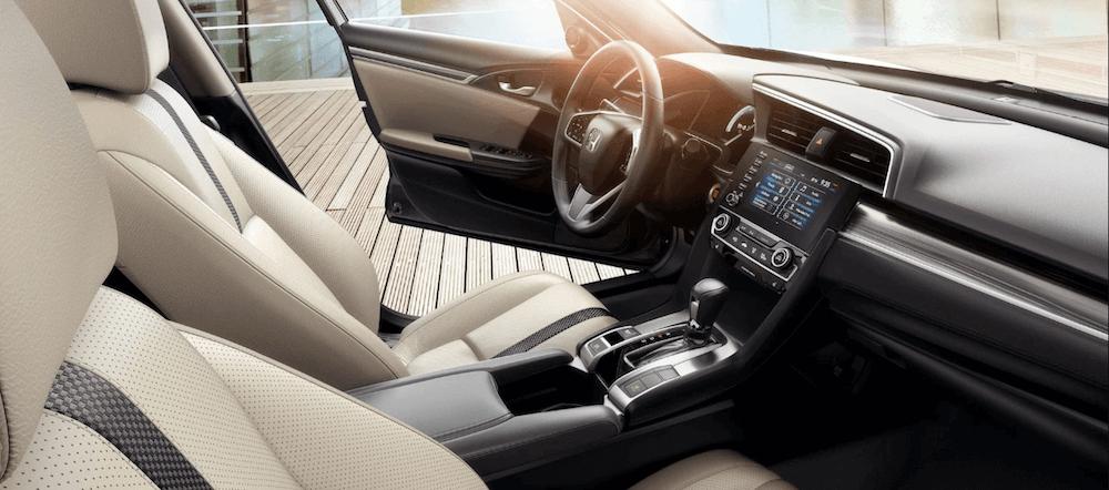 2020 honda civic interior features dimensions seating cargo space 2020 honda civic interior features