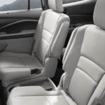 2020 Honda Pilot interior seating dimensions