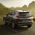 2020 Honda CR-V driving on highway