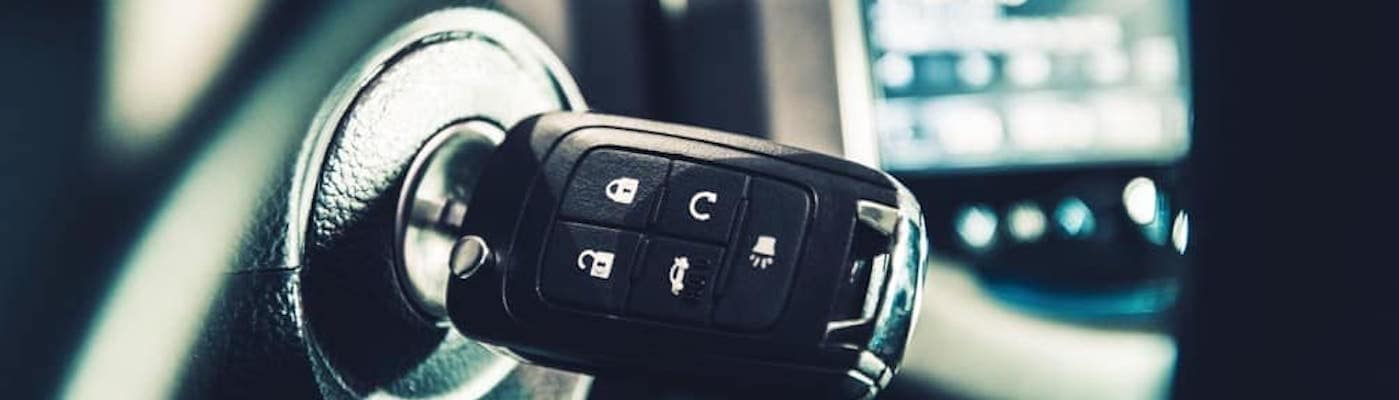key fob in ignition