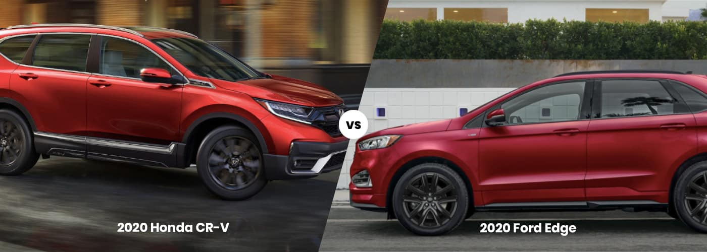 Honda CR-V vs. Ford Edge