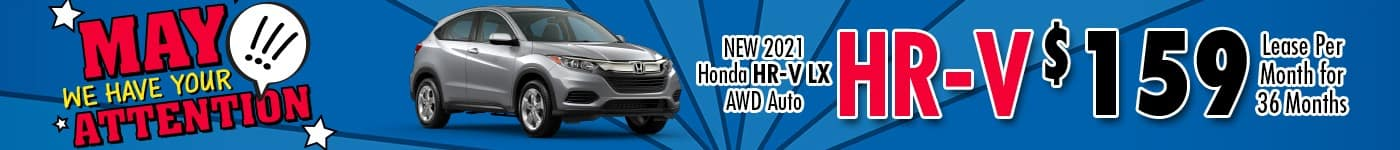 Honda HRV May 21 INV